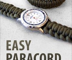 Easy Paracord Projects // Paracord is one of the best things to have when you're lost in the woods