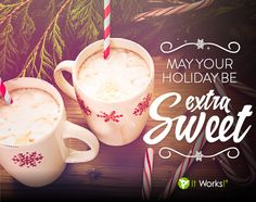 10 Days until Christmas! How are you going to make your holidays extra SWEET this year? Days Until Christmas, Christmas Time, It Works Loyal Customer, It Works Body Wraps, It Works Distributor, It Works Global, It Works Products, A Blessing, Make It Yourself