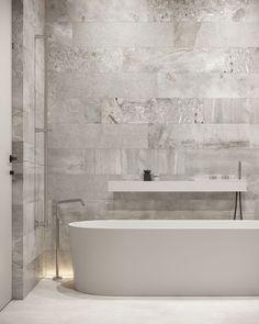 Master bathroom #masterbathroom #modernbathroom #minimalisticbathroom #ideasforbathroom #minimalism #minimalisticarchitecture #minimalisticinterior #architecture #modernarchitecture #design #minimalisticdesign #bathroom Laundry In Bathroom, Master Bathroom, Minimalist Interior, Minimalist Design, Minimalism, Modern Bathroom, Modern Architecture, Alcove, Bathtub