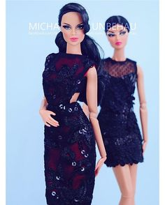 WEBSTA @ michaela_unbehau - @integrity_toys Vanessa Perrin  in SHANTOMMO @shantommo #blueeyes #beauty #sequins #dress #print #cutout #pattern #sexy #raven #red #style #stylish #doll #dolls #dollstagram #instadoll #instadaily #instamood #toy #toys #toystagram #fashion #fashionista #beauty #black #pink #pinklips #lace #littleblackdress