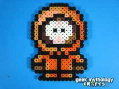 Set of 4 SOUTH PARK Perler Bead Sprite par GeekMythologyCrafts, $14.00