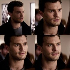 Fifty Shades Darker.. Have dinner with me.  Okay fine, I'll have dinner with you because I'm ... hungry. ♥ #FiftyShadesDarker #JamieDornan #DakotaJohnson