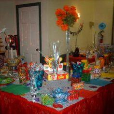 Popcorn and Candy Buffet #wedding #favors #ideas #foodie #popcorn #apothocary candy buffet, 80s candi, candi buffet