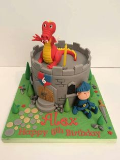 Fab Castle cake by Stacey Anderson