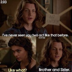 "#TheFosters 2x03 ""Play"" - Callie and Wyatt"