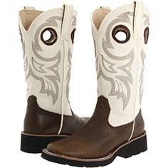 cowboy boots for girls, I can't logically justify these by any means, but oh I'd like to try. $52