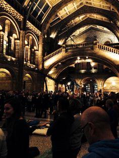 "Christina on Twitter: ""@NHM_London @Lord_Sugar @susanma crazy night unfolding in the Dinosaur Hall"""