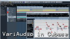 ADSR Pro using VariAudio in Cubase for pitch correction and vocal manipu...