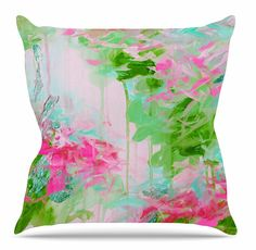 Whispered Song 2 Throw Pillow