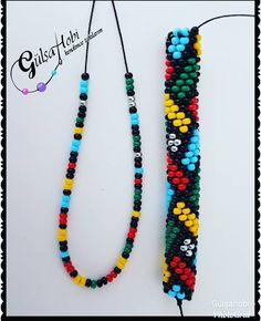 We are making a very popular model 9 and we are starting to line up from 1 black and 2 … Crochet Beaded Bracelets, Bead Loom Bracelets, Beaded Jewelry, Beaded Necklace, Necklace Set, Pearl Necklace, Bead Crochet Patterns, Bead Crochet Rope, Diy Crochet