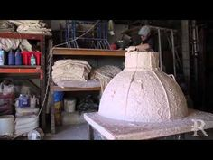 Creating a Plaster Cast Dome and Pendentives - Ryedale Plasterers Limted - YouTube