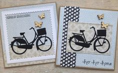 card bike bicycle Marianne design bicycle die butterfly butterflies LindaCrea: I Like to Ride my Bicycle Paper Cards, Diy Cards, Marianne Design Cards, Bicycle Cards, Girl Birthday Cards, Masculine Cards, Creative Cards, Stampin Up Cards, Cardmaking