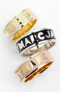 MARC BY MARC JACOBS 'Classic Marc' Band Ring