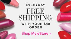 Image result for free shipping $40 avon