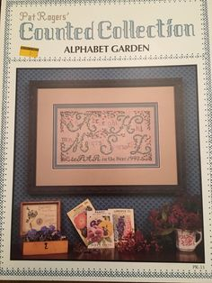 Bed /& Breakfast Collection Cross Stitch Charts Patterns Alma Lynne 14 Designs