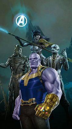 Thanos Marvel, Mcu Marvel, Marvel Fan, Iron Man Art, Black Order, Art Drawings, Avengers, Legends, Sci Fi