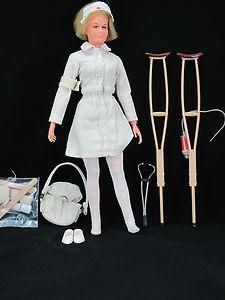All Original Vintage Gi Joe Nurse with RARE White Medic Bag Very Nice | eBay