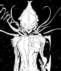 Tsumugi Shiraui from Knights of Sidonia, by Tsutomu Nihei.
