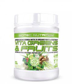 Scitec Nutrition Vita Greens and Fruits mit Stevia, 360g