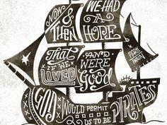 God would Permit us to be Pirates Original: http://ift.tt/1gQ1q9r