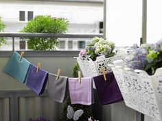 Tiny, but cozy mini balcony / Photo: Endelig Mandag