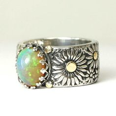 Daisy Daisy Give Me Your Answer True- Opal ring