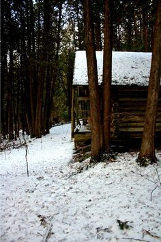 cabins / other idea for a possible honeymoon cabin in the snow or on a lake