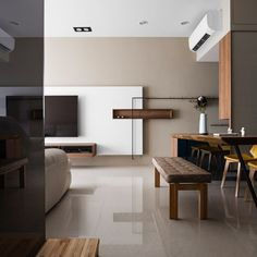 Japanese living in Taiwan by HOZO interior design 03