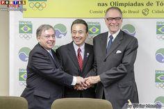 Hamamatsu será sede da concentração de parte das delegações olímpicas do Brasil