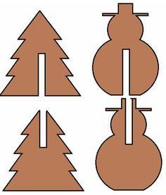 Weihnachtsdekoration Bauzeichnung 1