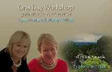 UK Medium and Tutor Lynn Probert and Medium Marilyn Whall will be conducting a  One Day Mediumship Workshop in Sydney on this day !