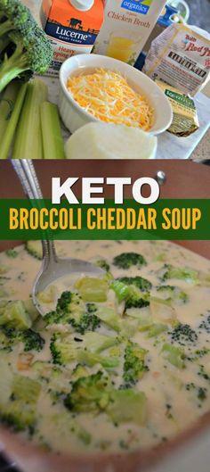 Keto Broccoli Cheddar Soup!!! - 22 Recipe