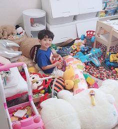 Korean Babies, Baby Toys, Toddler Bed, Kids, Ulzzang, Furniture, Kawaii, Home Decor, Sons
