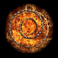 Circle of fire Photo by Lauro Winck — National Geographic Your Shot