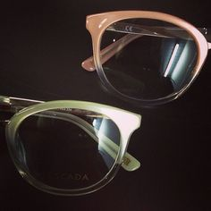 Παστέλ αποχρώσεις για σκελετό οράσεως...  Ποιο θα διαλέγατε? #escada #glasses #eyewear #style #fashion #frames #creme #saumon #pastel #color #fall #autumn #opticametaxas #athens #γυαλιά