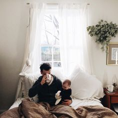 Mornings with baby Noah