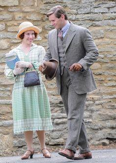 Downton Abbey Season 4 Branson and the Nanny