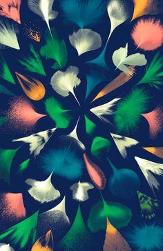 Artist Santtu Mustonencreates an explosion of organic pattern