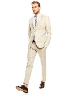 Veste de costume lin coton