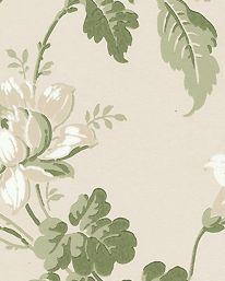 Tapet Blomslinga beige från Boråstapeter