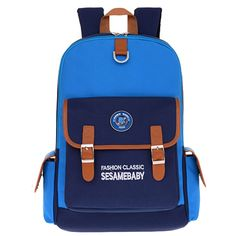 British style school bags for boys girls Fashion lightweight breathable orthopedic schoolbag for teens Travel children backpacks