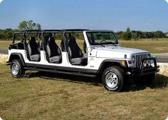 jeep limo - Very Cool!  Re-Pinned by #JeepDreamsUSA.com