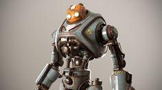 ArtStation - Bot - renderman play, Paul Braddock