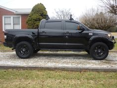 Blacked out Toyota Tundra. Yes please!