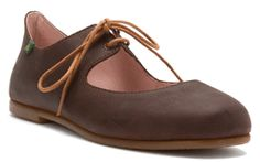 El Naturalista No 960 women's lace-up in antique brown size 37, 38 only