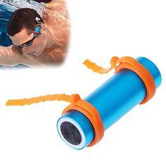 FM Radio Anzug f/ür Schwimmen Surfen smartera/® 4/GB Wasserdicht Unterwasser MP3/mit LED Display Joggen SPA Pink Klettern und andere Sport