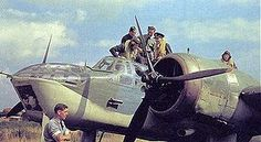 The Bristol Blenheim is a British light bomber aircraft designed and built by the Bristol Aeroplane Company that was used extensively in the first two years of the Second World War. It was originally developed as the civil-orientated Type 142 in response to Lord Rothermere's challenge to produce the fastest commercial aircraft in Europe.