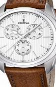 Festina Mens Brown Leather Strap Chronograph Watch As you would expect from a manufacturer as highly regarded as Festina you get a watch that will last the test of time. All Festina watches have been manufactured using strong and durable parts to keep http://www.comparestoreprices.co.uk/mens-watches/festina-mens-brown-leather-strap-chronograph-watch.asp
