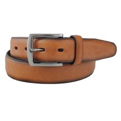 Classic belt with shaded edges.