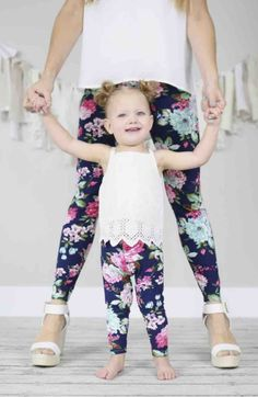 Mommy & Me Matching Leggings Just $6.99/Each!